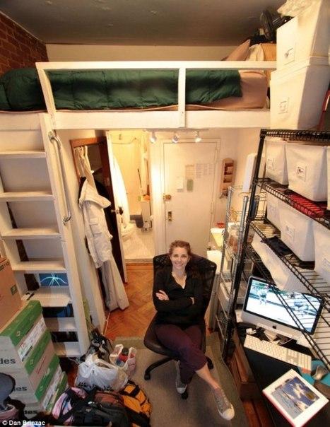 второй этаж в маленькой комнате